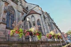 Historische stad Schorndorf dichtbij aan Stuttgart royalty-vrije stock foto's