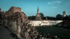 Historische Stad van Ayutthaya Stock Afbeelding