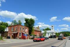 Historische stad van Johnson, Vermont Royalty-vrije Stock Afbeeldingen