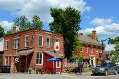 Historische stad van Johnson, Vermont Royalty-vrije Stock Foto