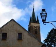 Historische stad van Telc Royalty-vrije Stock Fotografie