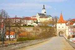 Historische Stadt Stockbild