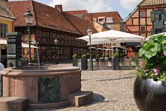Historische Stadt Stockfotos