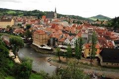 Historische Stadt Stockfotografie