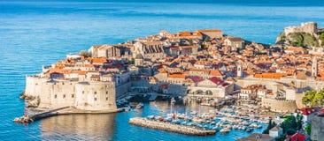 Historische Stadt Dubrovnik in Kroatien, UNESCO Stockfotografie
