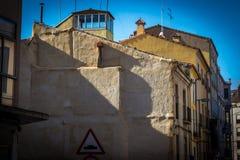 Historische Stadt in Spanien Lizenzfreies Stockfoto