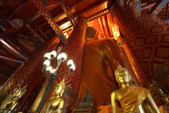 Historische Stadt von Ayutthaya in Thailand Lizenzfreie Stockbilder