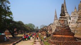 Historische Stadt von Ayutthaya in Thailand Lizenzfreies Stockbild