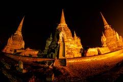 Historische Stadt von Ayutthaya, Thailand Stockbild