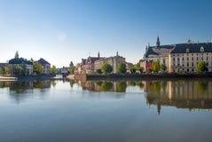 Historische Stadt von Breslau stockfotos