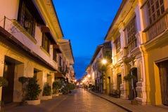 Historische Stadt von Vigan Lizenzfreie Stockfotografie