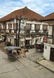 Historische Stadt von Vigan lizenzfreies stockfoto