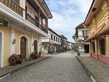 Historische Stadt von Vigan lizenzfreies stockbild