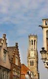 Historische Stadtmitte von Brügge Stockfotografie