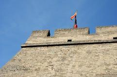 Historische Stadtwand von Xian, China Lizenzfreies Stockfoto