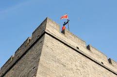 Historische Stadtwand von Xian, China Lizenzfreies Stockbild