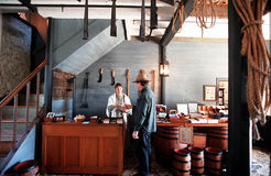 Historische Steenopslag, Kerikeri, Nieuw Zeeland royalty-vrije stock afbeeldingen