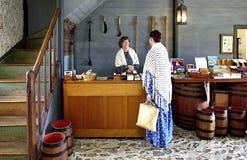Historische Steenopslag, Kerikeri, Nieuw Zeeland stock afbeelding