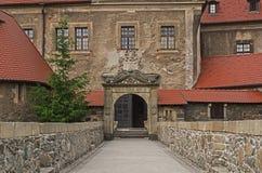Historische Steinbrücke Stockbild