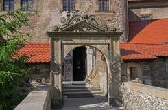Historische Steinbrücke Stockfotos