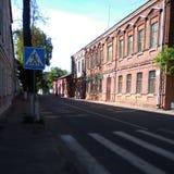 Historische Straße Stockfoto