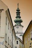 Historische straat Royalty-vrije Stock Afbeelding
