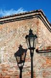 Historische straatlantaarn Royalty-vrije Stock Afbeelding