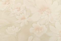Historische Tapeten als Hintergrund von den Blumen Stockbild