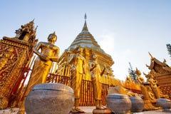 Historische Tempel in Thailand royalty-vrije stock fotografie