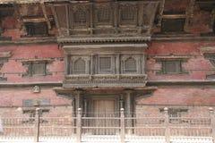 Historische tempelmuur Royalty-vrije Stock Foto's