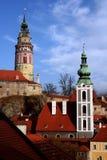 Historische torens Royalty-vrije Stock Afbeeldingen