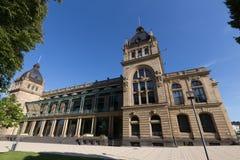 Historische townhall Wuppertal Duitsland stock afbeelding