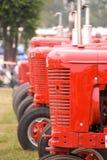 Historische Traktoren Stockfoto