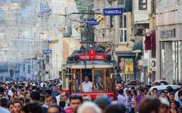 Historische tram stock foto's