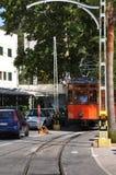 Historische Tram. Soller Mallorca, Spanje. Royalty-vrije Stock Afbeelding