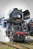 Historische trein Stock Afbeelding