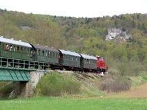 Historische trein royalty-vrije stock foto's