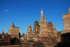 Historische Tuin in Sukhothai Stock Afbeeldingen