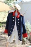 Historische Uniform von den späten 1800s Stockfotos