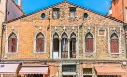 Historische venetianische Murano-Insel-Architektur Lizenzfreie Stockfotos