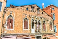 Historische venetianische Murano-Insel-Architektur Lizenzfreies Stockfoto