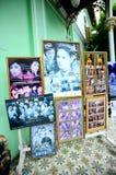 Historische Villa Pinang Peranakan in Georgetown, Penang Lizenzfreie Stockbilder