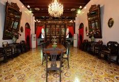 Historische Villa Pinang Peranakan in Georgetown, Penang Stockfotografie