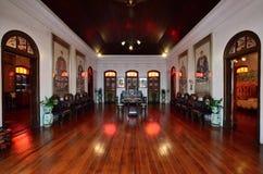 Historische Villa Pinang Peranakan in Georgetown, Penang Lizenzfreie Stockfotografie