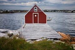 Historische visserijstadia royalty-vrije stock foto