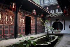 Historische Volksgebäude China-Sichuan Stockfoto