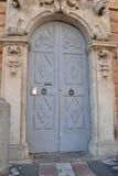 Historische voordeur Stock Afbeeldingen