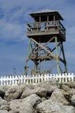Historische Watchtower van de Wereldoorlog II Stock Fotografie