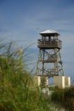 Historische Watchtower van de Wereldoorlog II Royalty-vrije Stock Afbeeldingen