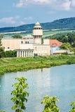 Historische watertoren binnen in Piestany spa, Slowakije Stock Fotografie